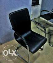 Office leather visitors chair