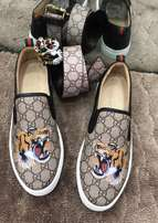 Gucci sneakers and belt - Tiger edition