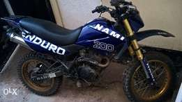 Enduro off road bike for sale
