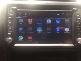 Car radio system with android wifi,simcard slot,you tube