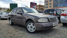 Mercedes Benz C180, Metallic Bornite , SUNROOF, Year 1996 Local ,Engin