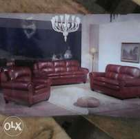 an elegant five seater couch with good finishing