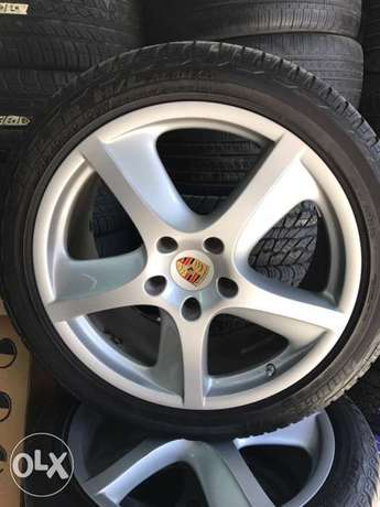 Rims 20 Inches Porsche Cayenne Turbo With 4 Tyres
