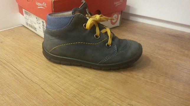 f1d32300 SUPERFIT trzewiki buty dziecięce unisex r. 23 skóra naturalna nubuk  Warszawa - image 1
