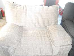 Beige lounge suite for sale at bargain price