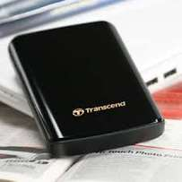 "Transcend 1TB External Hard Drive (2.5"") for sale - With Movies & Seri"