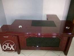 GF - Office Durable Exotic Executive Table 1.6m(New)