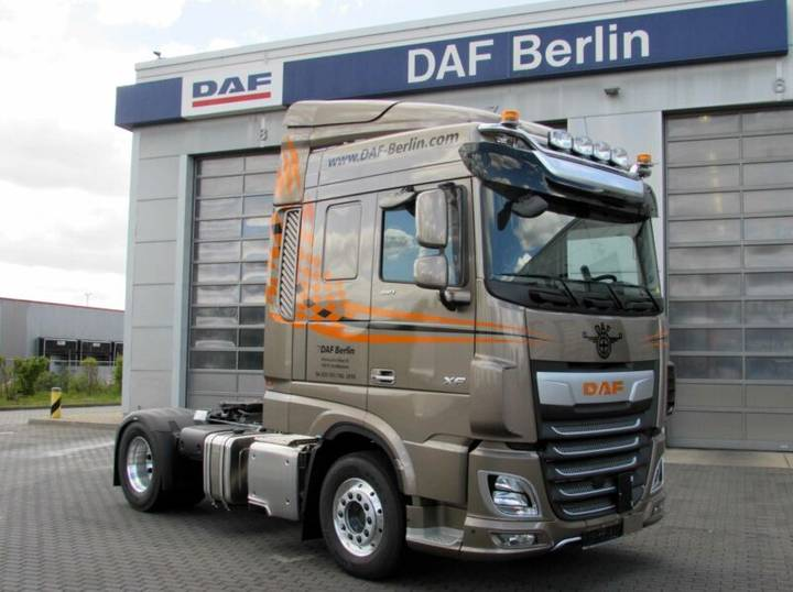 DAF XF 480 FT SC, TraXon, Intarder, Euro 6 - 2019
