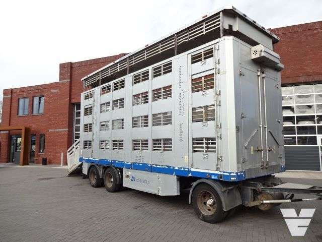 Michieletto Rm25 4stock Livestock Trailer - 2008