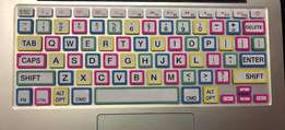 Colorful Apple Macbook pro,air keyboard covers