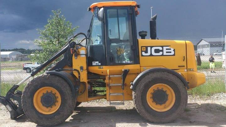 JCB 416 Ht Lastare, Uthyres - 2010