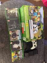 Xbox one s 1TB 5 games 2 controllers all sealed in box brand new