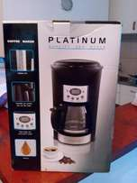 New Platinum Coffee Maker