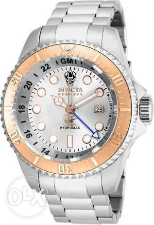 Invicta Men's 16964 Reserve Hydromax Analog-Display Swiss Quartz Silve