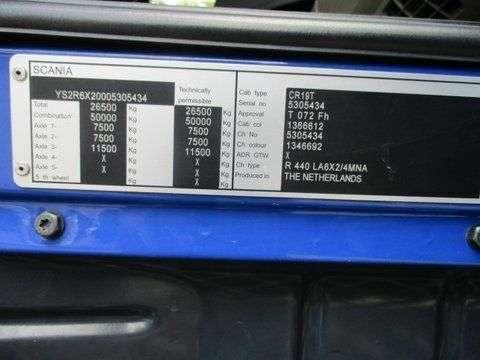 Scania R440 LA 6X2/4 MNA AdBlue Euro6 - 2012 - image 11