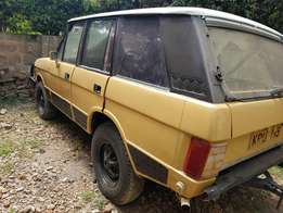 Range Rover Classic...up country.
