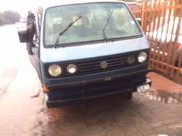 Microbuss stripping for spares