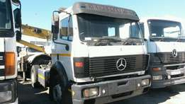 1998 Mercedes benz 17:35 Powerliner (single diff) for sale