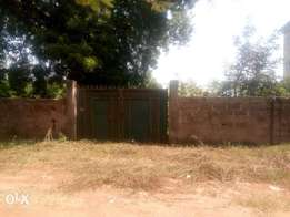 Fenced 7000sqm plots of Land at angwan Rimi Opp . Police college