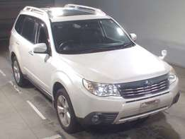 Subaru Forester 2010 model just arrived with Sunroof Amazing deal.