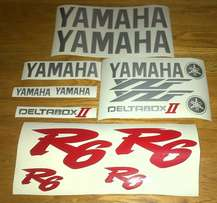 Yamaha R6 graphics sticker decals kits - all model designs