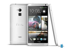 HTC One Max, Silver 32GB 6inch display fingerprint scanner