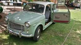 1958 Fiat 1100D for sale or swap for a classic British car
