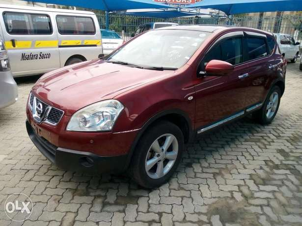 Red Nissan dualis New number Mombasa Island - image 5
