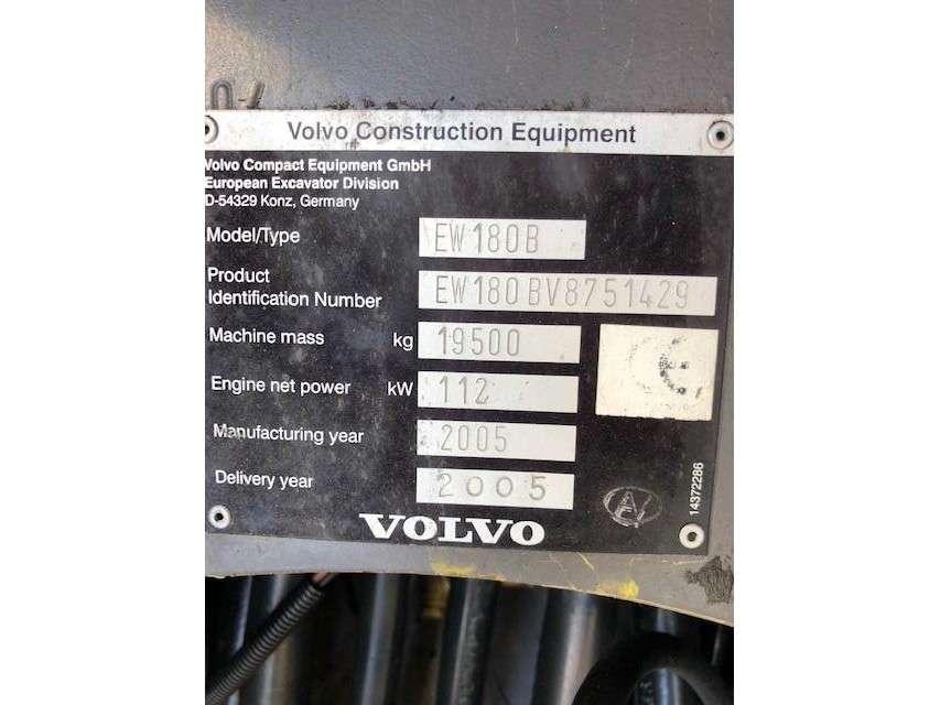 Volvo EW180B - 2005 - image 3