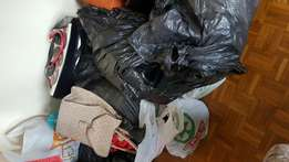 Bags of female and girls clothing,shoes and bags to clear