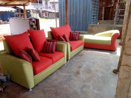Make difference kind of sofa chair with fabric and leaders chair