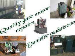 Gate motor repair, installation and servicing in Cape town