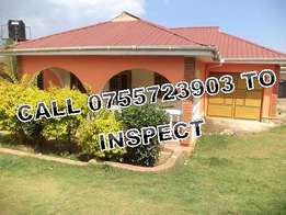 Desirable 3 bedroom stand alone house along Kisaasi-Kyanja rd at 800k