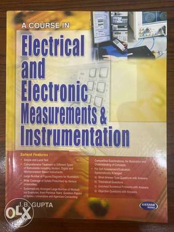 electrical and electronic measurements and instrumentation.