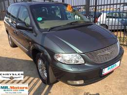 2002 Chrysler Grand Voyager 3.3 Limited Face lift Automatic Low Mileag