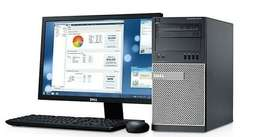 Dell Intel Core i7 Desktop (+Wireless Adapter & N-computing Card), Mon