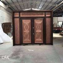 Bulletproof doors and Solid Turkey doors at giveaway prices. From 160k