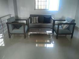 Supaby Lounge chairs with table
