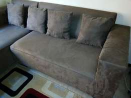 Elegant L Shaped Couch