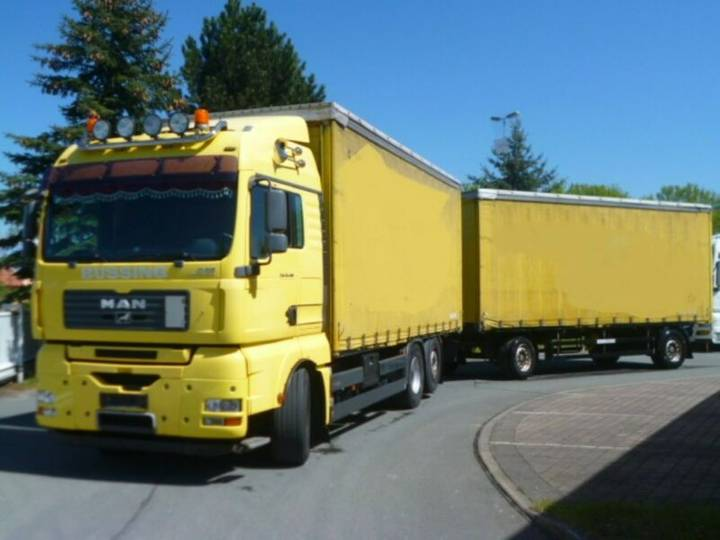 MAN TGS 26.480 LL 6x2 Festaufbau/Staplerh./Intarder - 2007