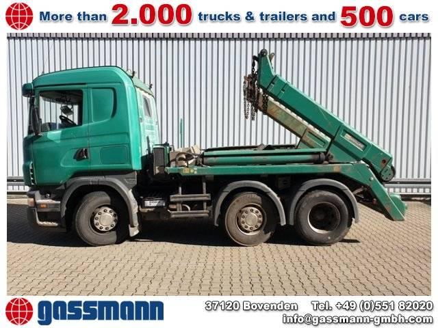 Scania R420 6x2/4 Vorlauflenk-/Liftachse - 2005