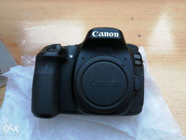 Canon EOS 80D Body Only / 13K Shutter / With all accessories
