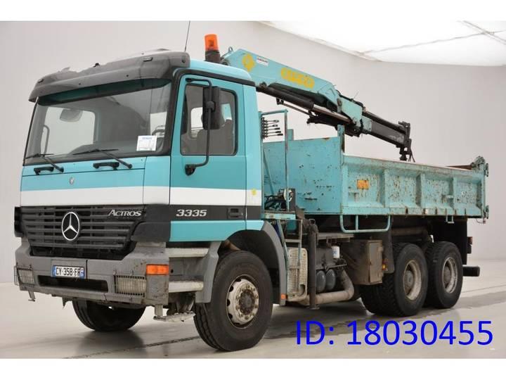 Mercedes-Benz Actros 3335 - 6x4 - 2001