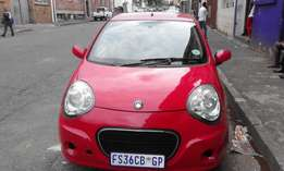 Geely Lg 1.3GL Model 2011 5 Door Colour Red Factory A/C & CD Player