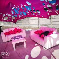Stretch tents and decor Hiring