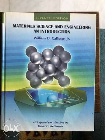 Materials Science Engineering an introduction