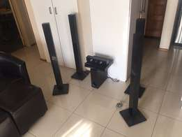 LG 3D Blu-Ray Tall Boy Home Theater Surround system for sale