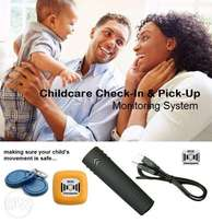 Childcare Check-In & Pick-Up Monitoring System