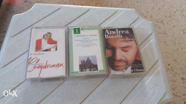 24cassettes music and songs