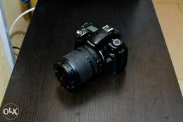 Nikon D80 with 18-105mm lens
